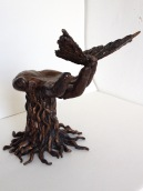The Tree of Life, 2014, Bronze, 10 x 15 x 15 in